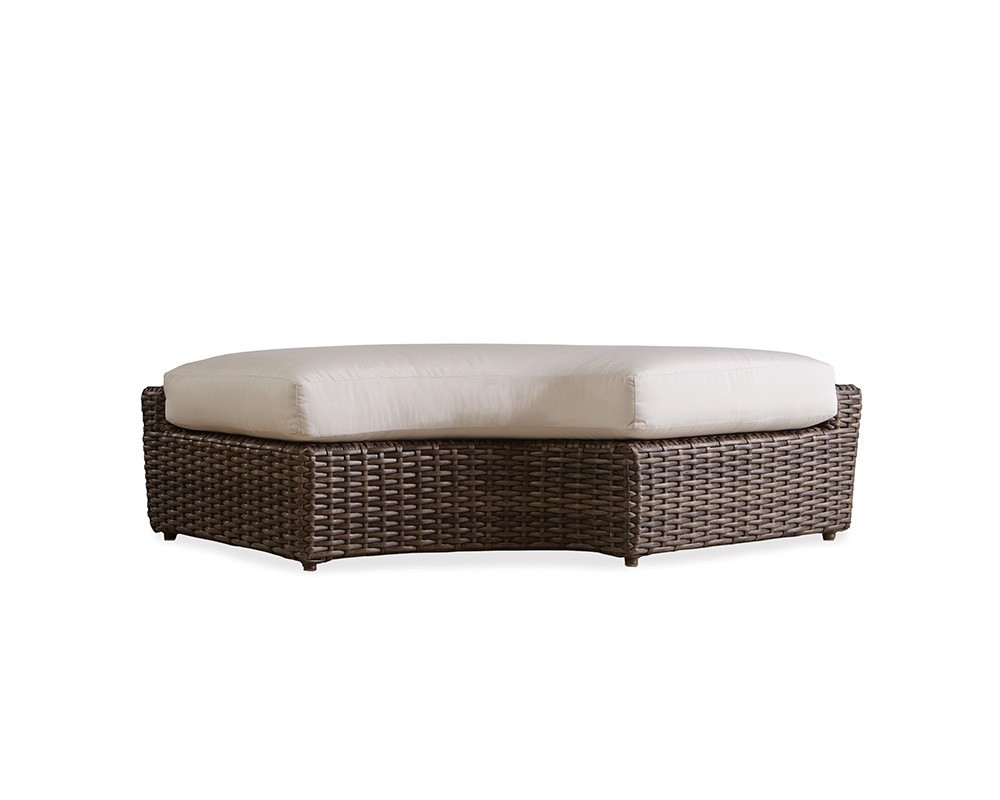 Largo Right Curved Bench Hauser S Patio
