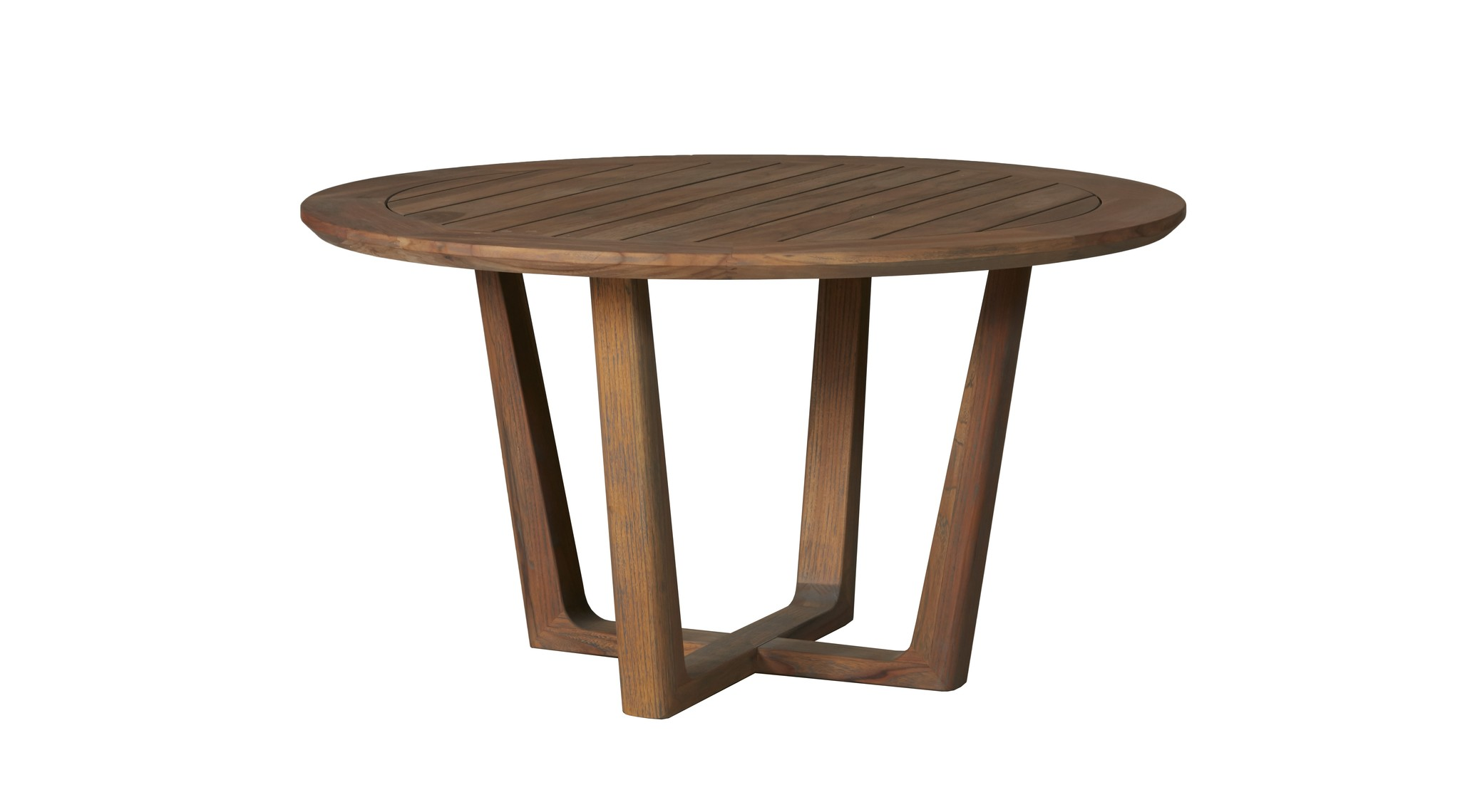 Tobago 54 Quot Rd Sled Base Dining Table Hauser S Patio
