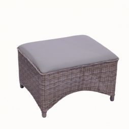 Millano Club Ottoman - Driftwood / Taupe