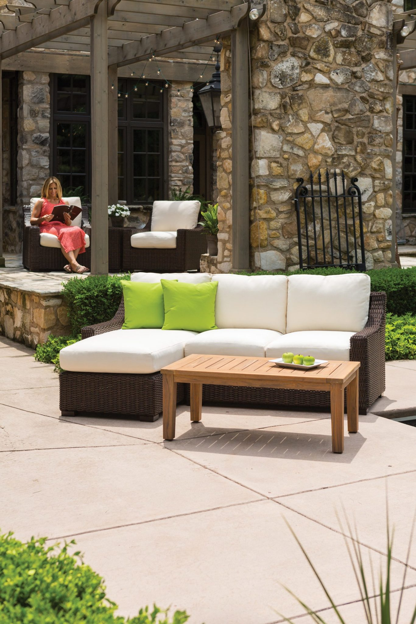 Mesa Curved Sofa Sectional Hauser S Patio