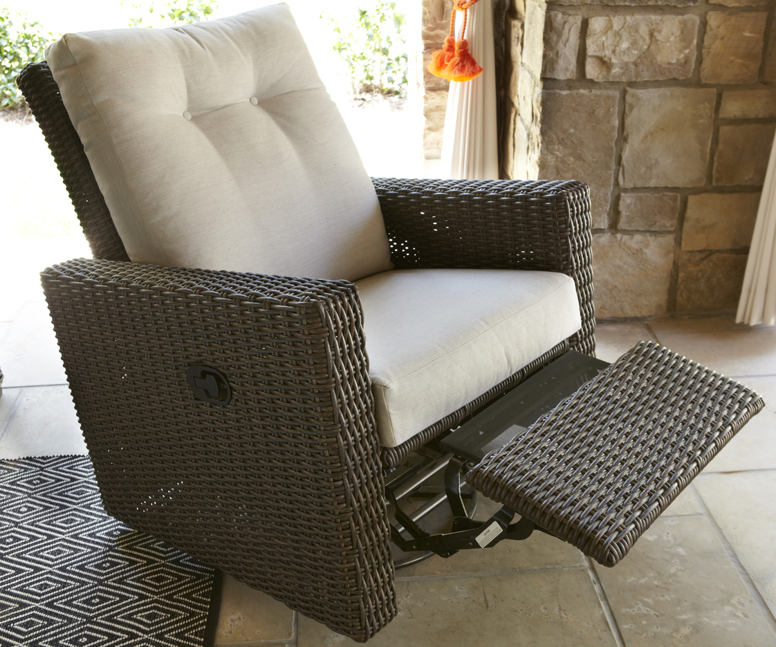 Mesa Swivel Glider Recliner Hauser S Patio