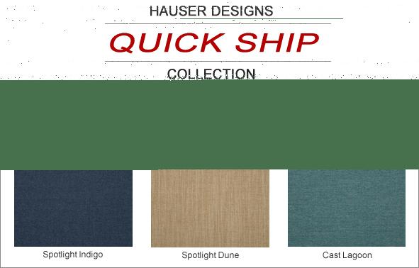 Hauser Designs Quick Ship