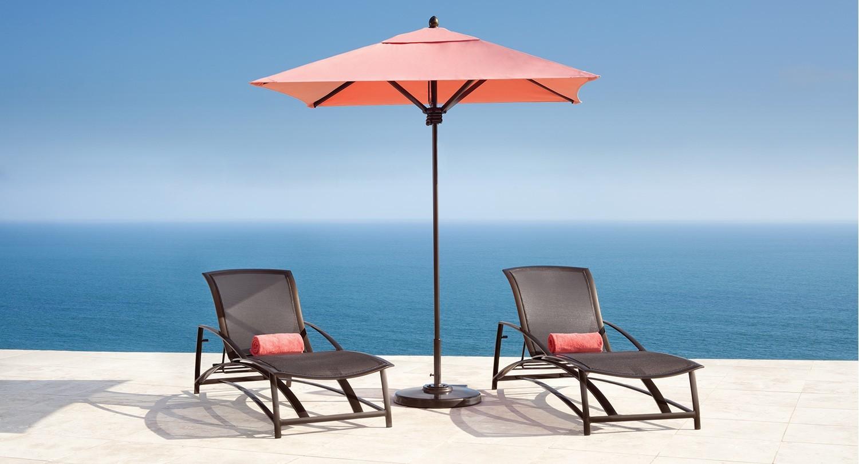 wave collection lounge brown jordan