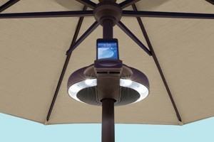 treasure garden umbrella light kit