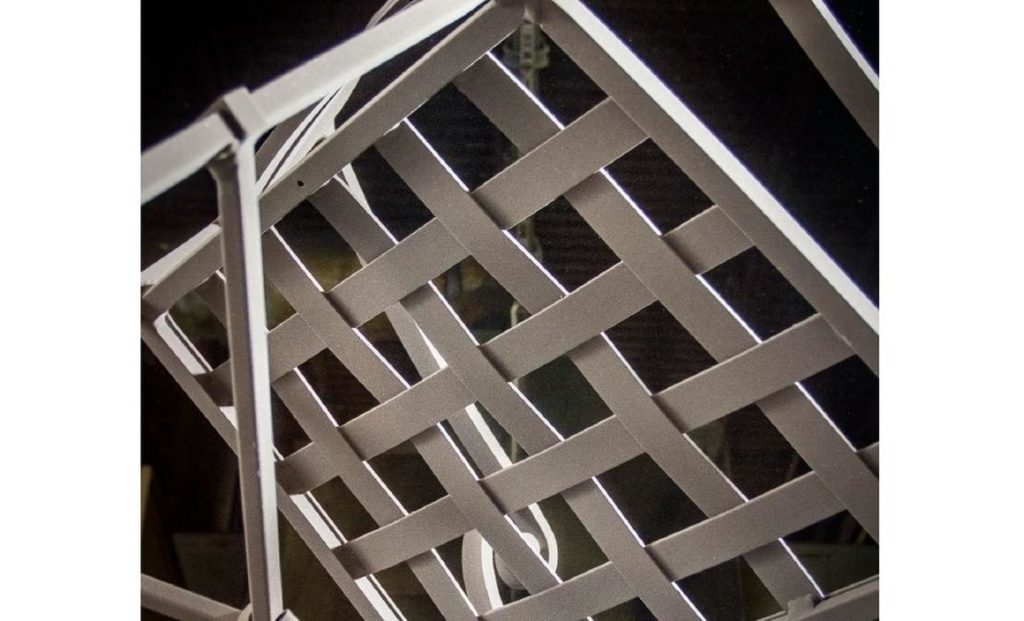brown jordan aluminum chair frame