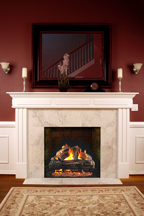 Why Upgrade To A Gas Fireplace With Realistic Logs