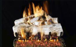Mountain Birch Designer Fireplace Logs