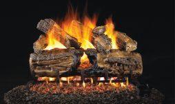Burnt Split Oak Fireplace Logs