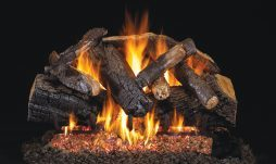 Charred Majestic Oak Fireplace Logs