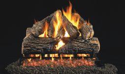 Charred Oak Fireplace Logs