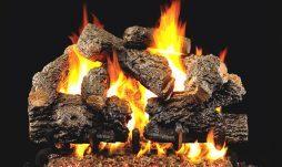 Charred Royal English Oak Fireplace Logs