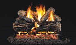 Charred Split Oak Fireplace Logs