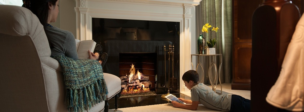 indoor gas fireplaces