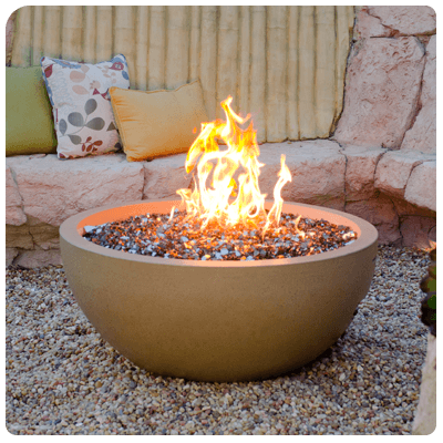 fire features fire bowl