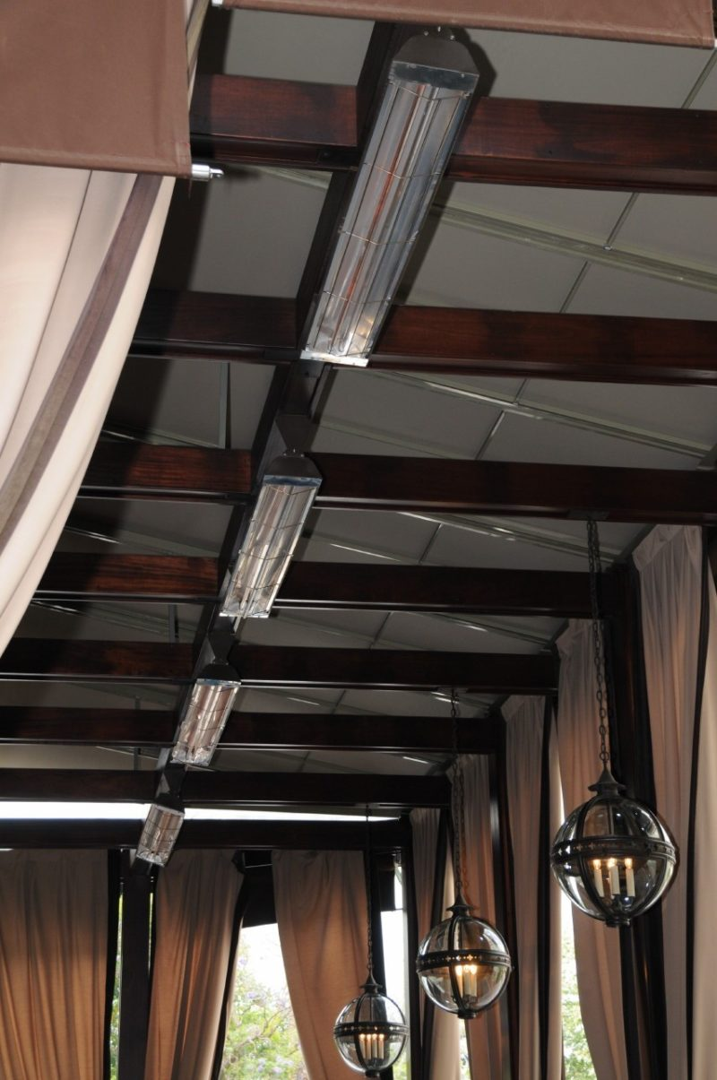 ceiling mounted outdoor heaters