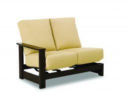 Leeward Cushion Hidden Motion Right Arm Loveseat Module