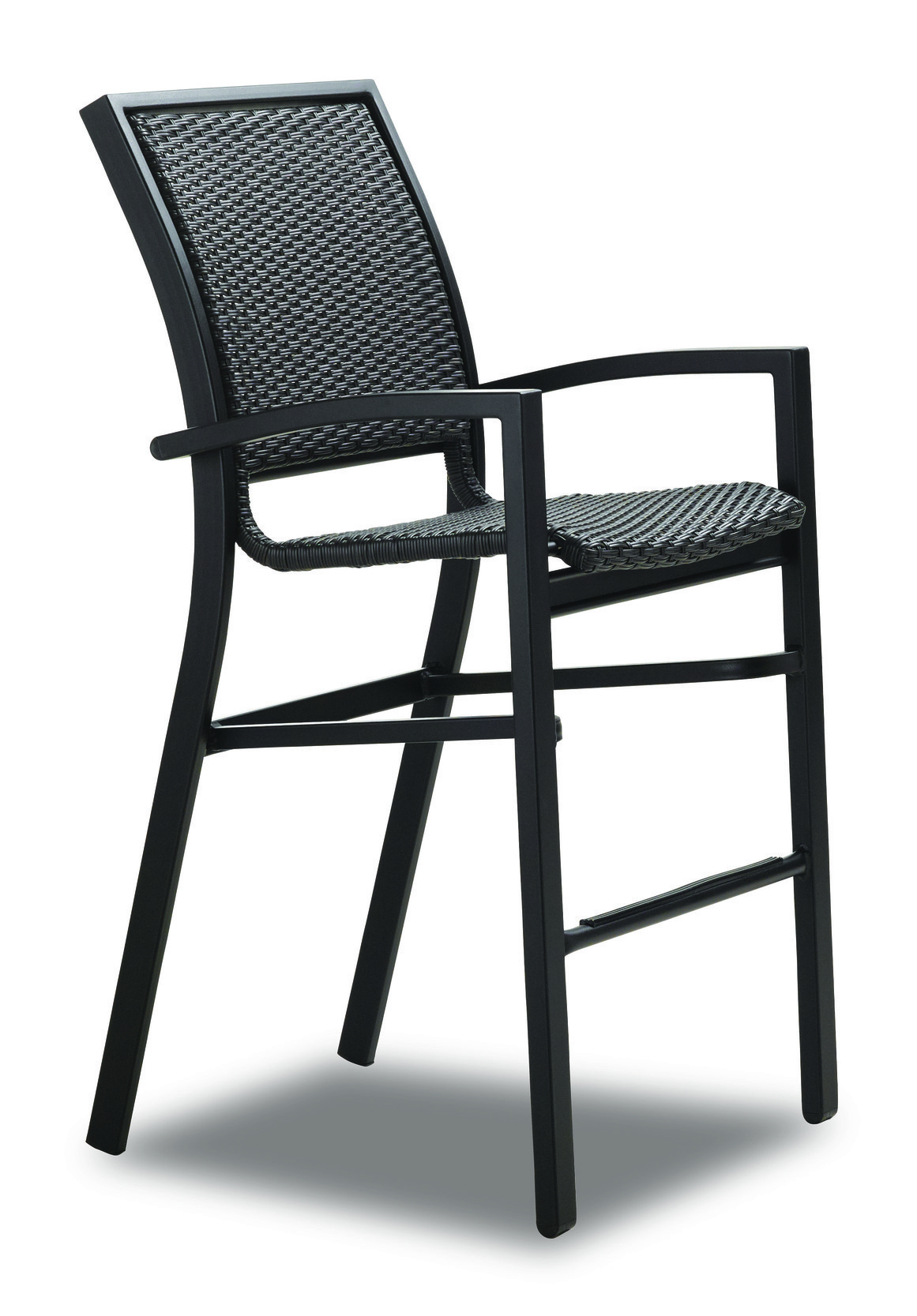 Kendall Wicker Stacking Bar Chair Hauser S Patio