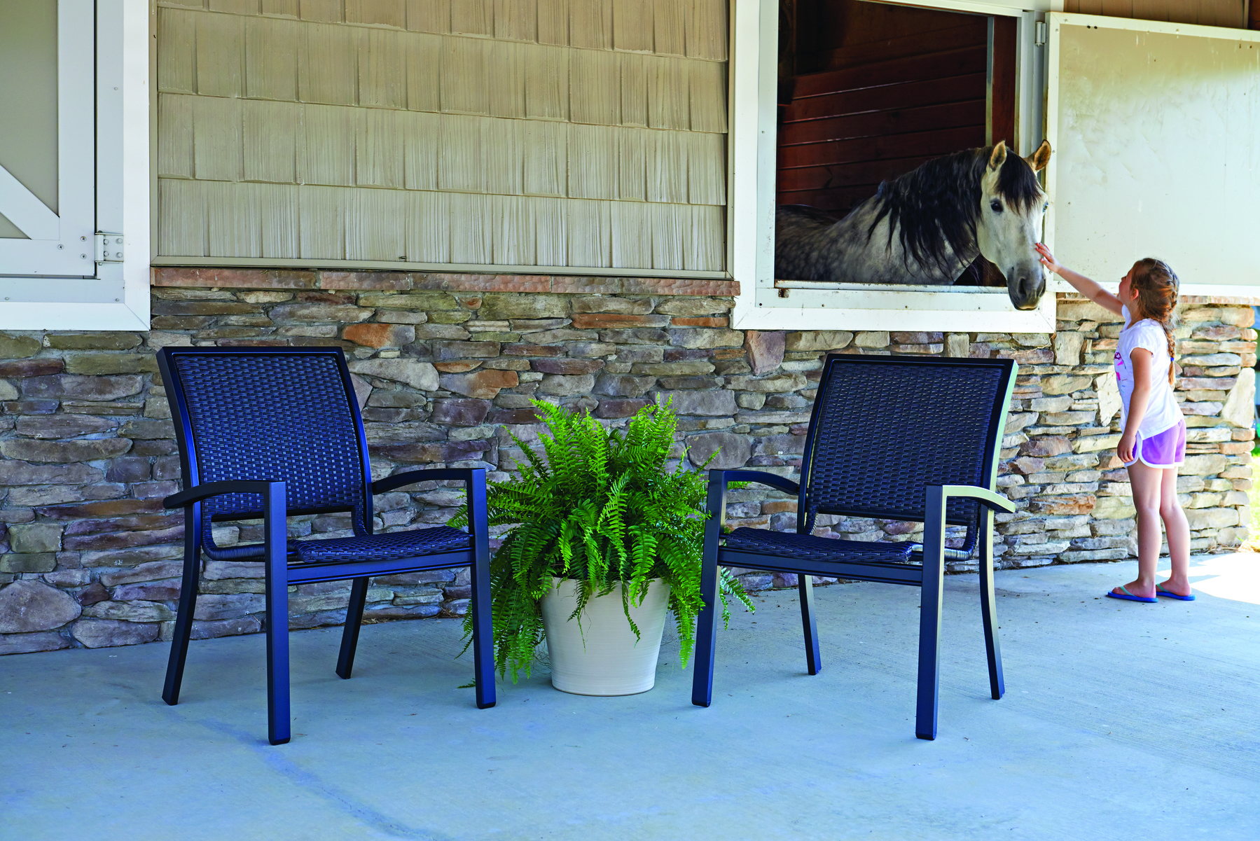 chair browse stacking s patio day balcony telescope furniture wicker kendall hauser