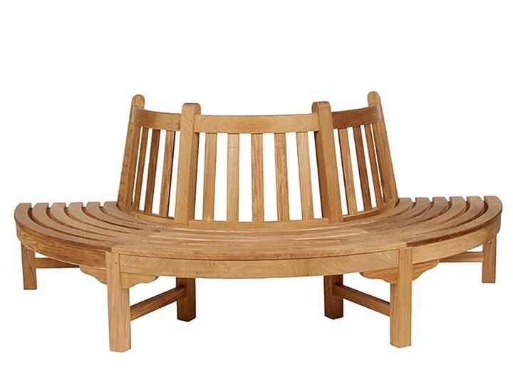 Glenham Semi Circle Seat by Barlow Tyrie