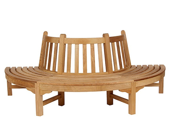Glenham Semi Circle Seat by Barlow Tyrie