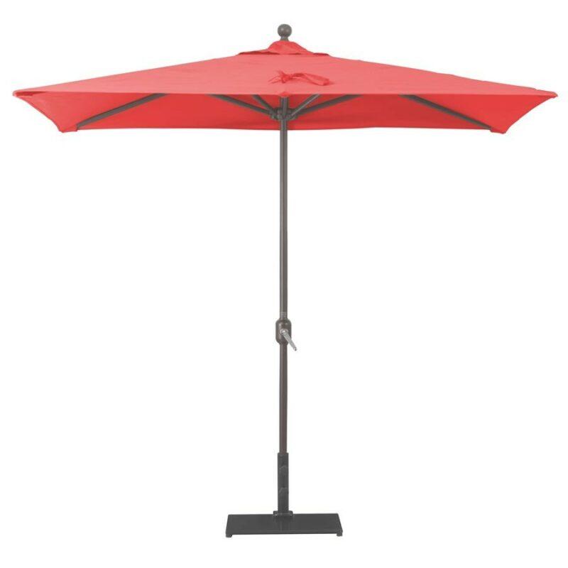 rectangular half wall commercial umbrella
