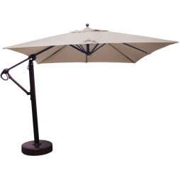 10x10' Square Cantilever Umbrella