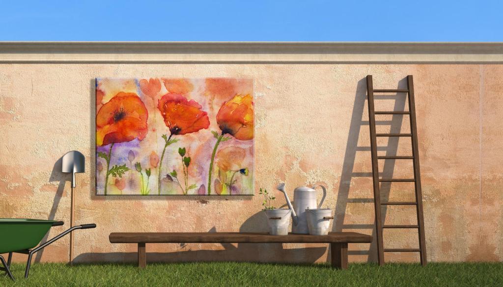 outdoor artwork