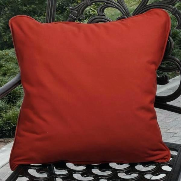 outdoor toss pillow