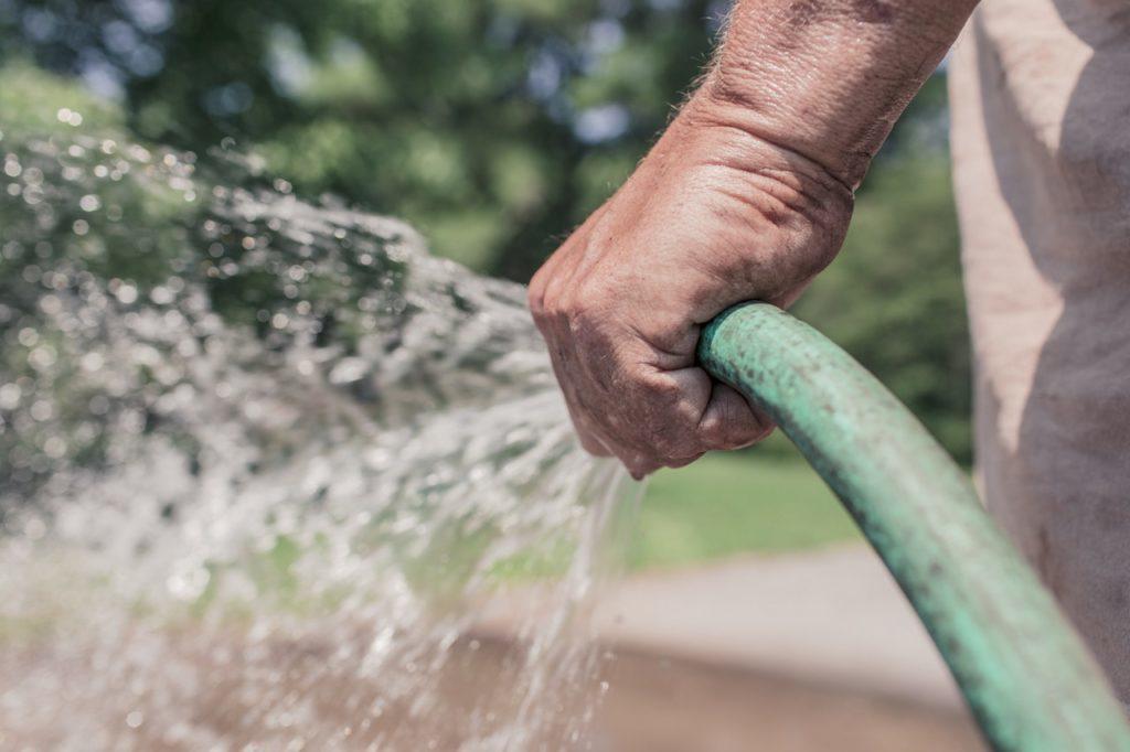 outdoor water hose
