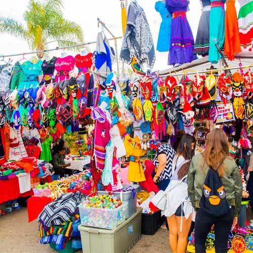 Mexican mercado Balboa Park