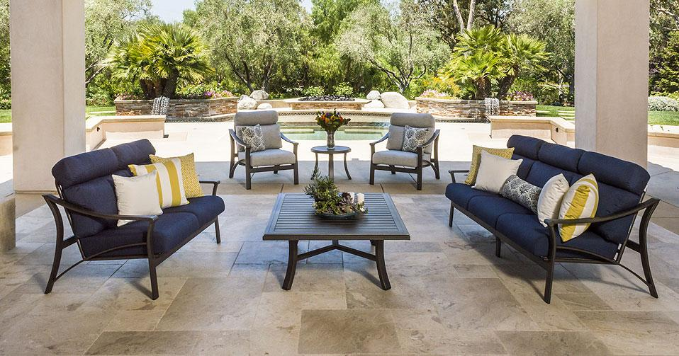 Corsica cushion seating