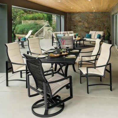 Kenzo dining set from Tropitone